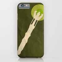 iPhone & iPod Case featuring Minimalist Sonic Screwdriver by Michael Parsons