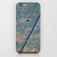 Song of the wires  iPhone 6 Slim Case