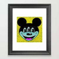 ANOTHER MICKEYES.  (Pink… Framed Art Print