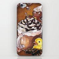Gingerbread Bath iPhone & iPod Skin