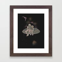 Catch your own star Framed Art Print