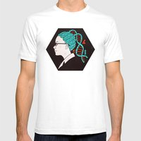 Cosima Mens Fitted Tee White SMALL