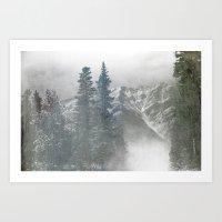 Calgary landscape Art Print