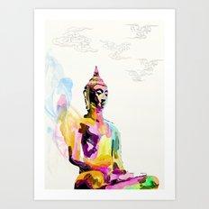 Keep Quiet Art Print