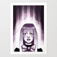 Midnight Visit  Art Print