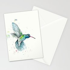 Hummingbird Flurry Stationery Cards