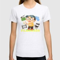 Filmmaker Womens Fitted Tee Ash Grey SMALL