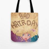 Bad Hair Day Tote Bag