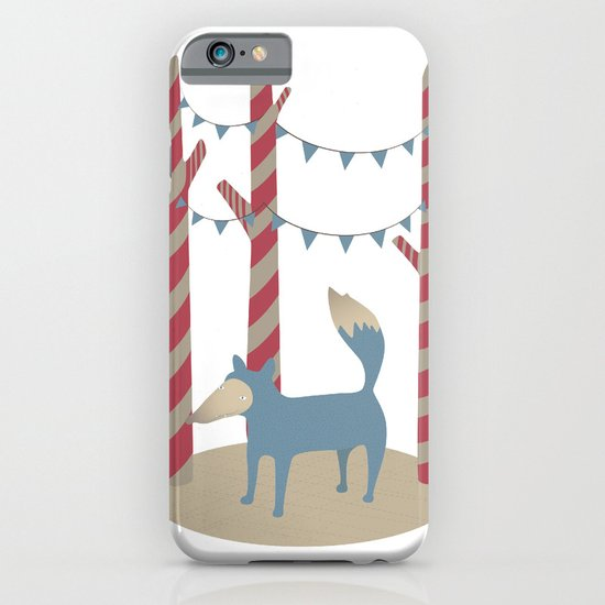Blue Wolf iPhone & iPod Case