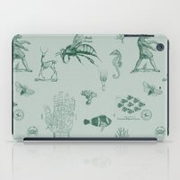 vintage ephemera mint iPad Case