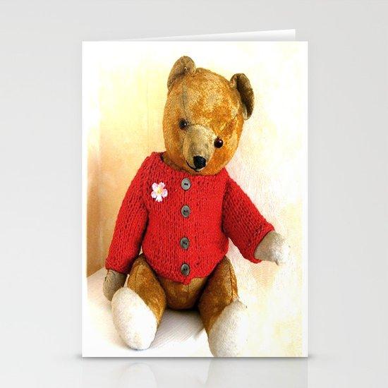Teddy`s     50. Birthday Stationery Card