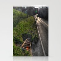 Down the road Stationery Cards