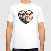 Sterek Mens Fitted Tee White SMALL