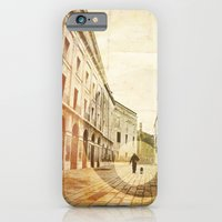 iPhone & iPod Case featuring The Stroller by Leon Greiner