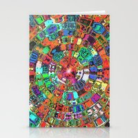 Mosaic Gems   Stationery Cards