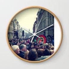 A London Parade  Wall Clock