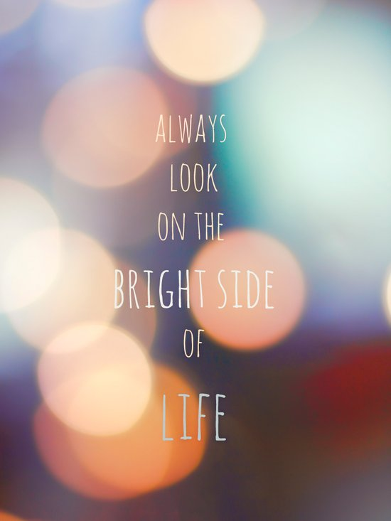 The Bright Side Art Print