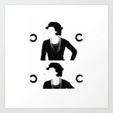 CC Deconstruct Art Print