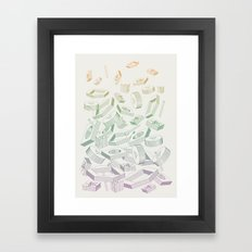 Muddled Framed Art Print