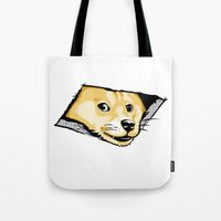 Ceiling Doge Tote Bag