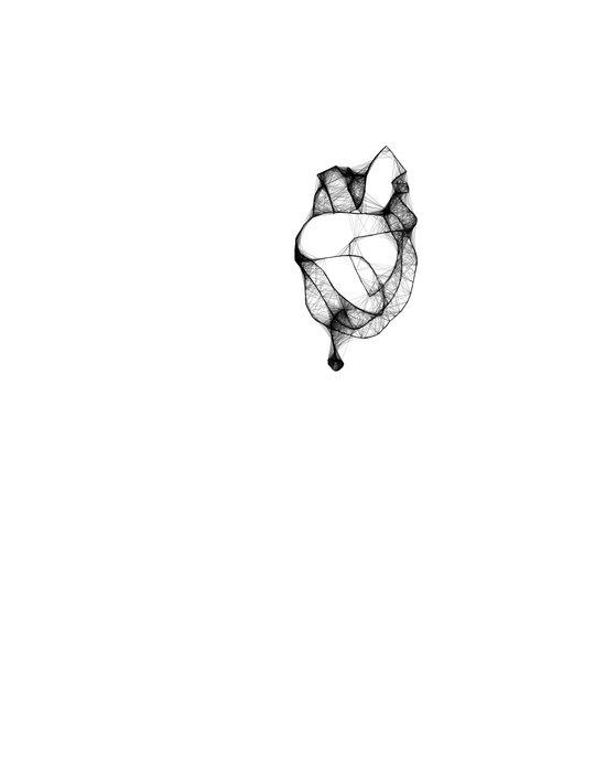 Hook in my Heart Art Print