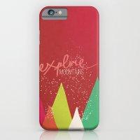 Explore Mountains iPhone 6 Slim Case