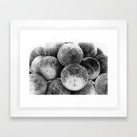 Negative Light No.1 Framed Art Print