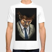 Martyr Mens Fitted Tee White SMALL