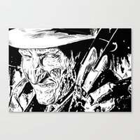 Freddy Krueger #2 Canvas Print