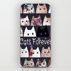 cat-58 iPhone & iPod Skin