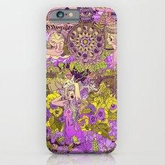 Garden Pansy iPhone 6 Slim Case