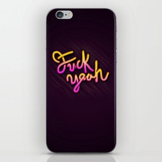 Fuck Yeah iPhone & iPod Skin
