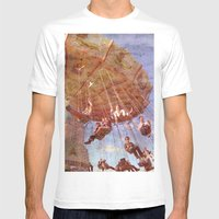 Swingin' By Mens Fitted Tee White SMALL