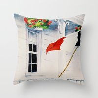 Fierté Acadienne Throw Pillow