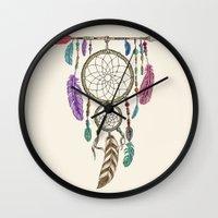 Big Dream Catcher Wall Clock