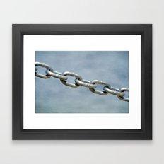 Links on the Chain Framed Art Print