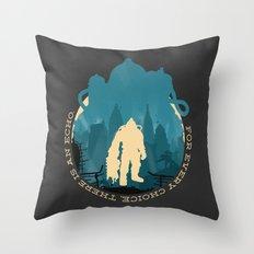 Bioshock 2 Throw Pillow