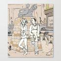 Take a break fall in love (nr.2) Canvas Print