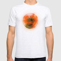 Color explosion 01 Mens Fitted Tee Ash Grey SMALL