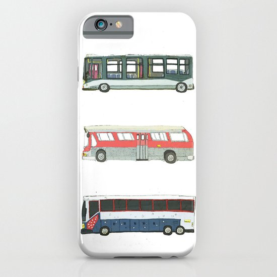 Buses iPhone & iPod Case