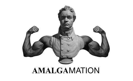 Amalgamation #1 Canvas Print