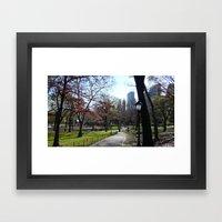 November in NY Framed Art Print