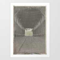Ghostly Art Print