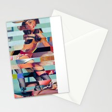 Glitch Pin-Up: Randi Stationery Cards