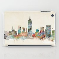 indianapolis indiana skyline iPad Case