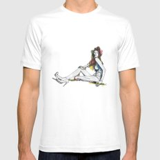 UNTITLED Mens Fitted Tee SMALL White