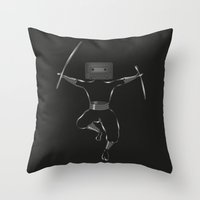 Killer Mixtape Throw Pillow
