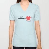 Follow the Heart Unisex V-Neck