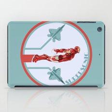 iron man and F22 raptor  iPad Case