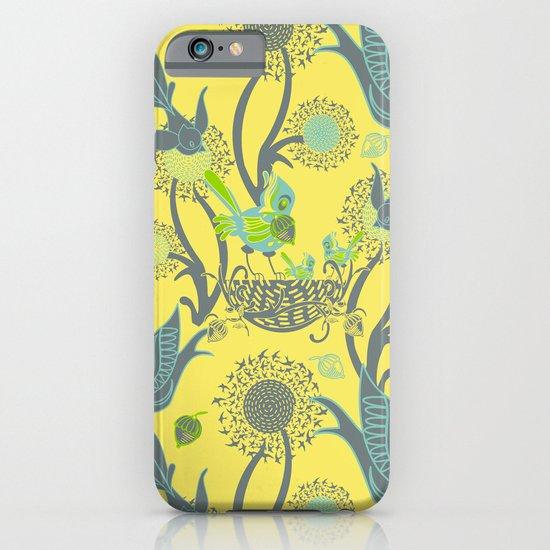 Birds and Acorns iPhone & iPod Case